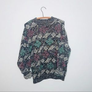 Vintage Retro 90's Chunky Oversized Sweater